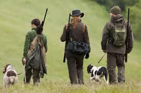 cacciatori a spasso