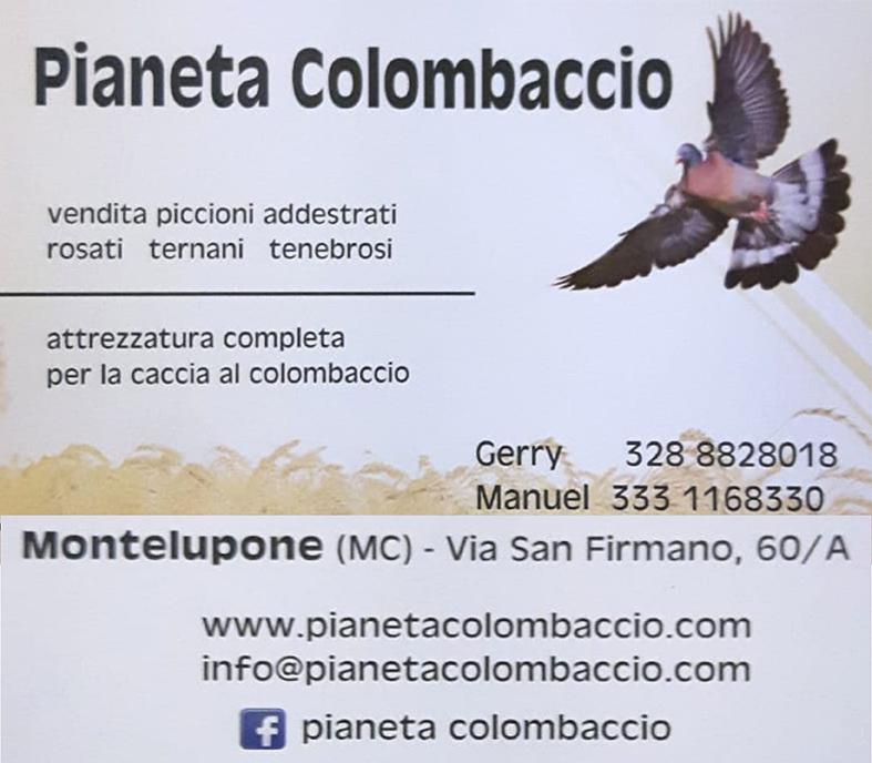 sponsor pianeta colombaccio